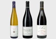 夏の夜を楽しむフランスワイン3本セット