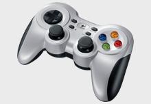 J:COMゲーム専用「ロジクール ワイヤレスゲームパッド F710」